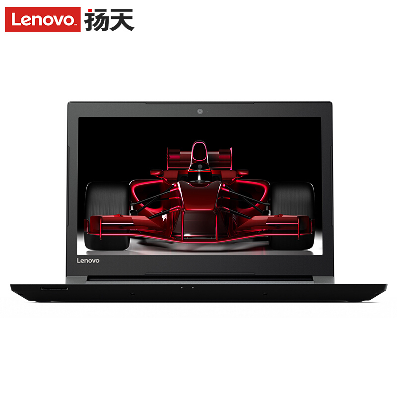 联想(Lenovo)扬天V110 14英寸商务笔记本电脑(E2-9010 4G 500G R5 M430 2G显存 win10)黑